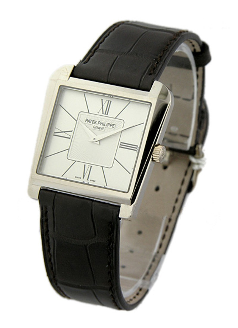 Patek Philippe Gondolo Trapeze  Mechanical in White Gold