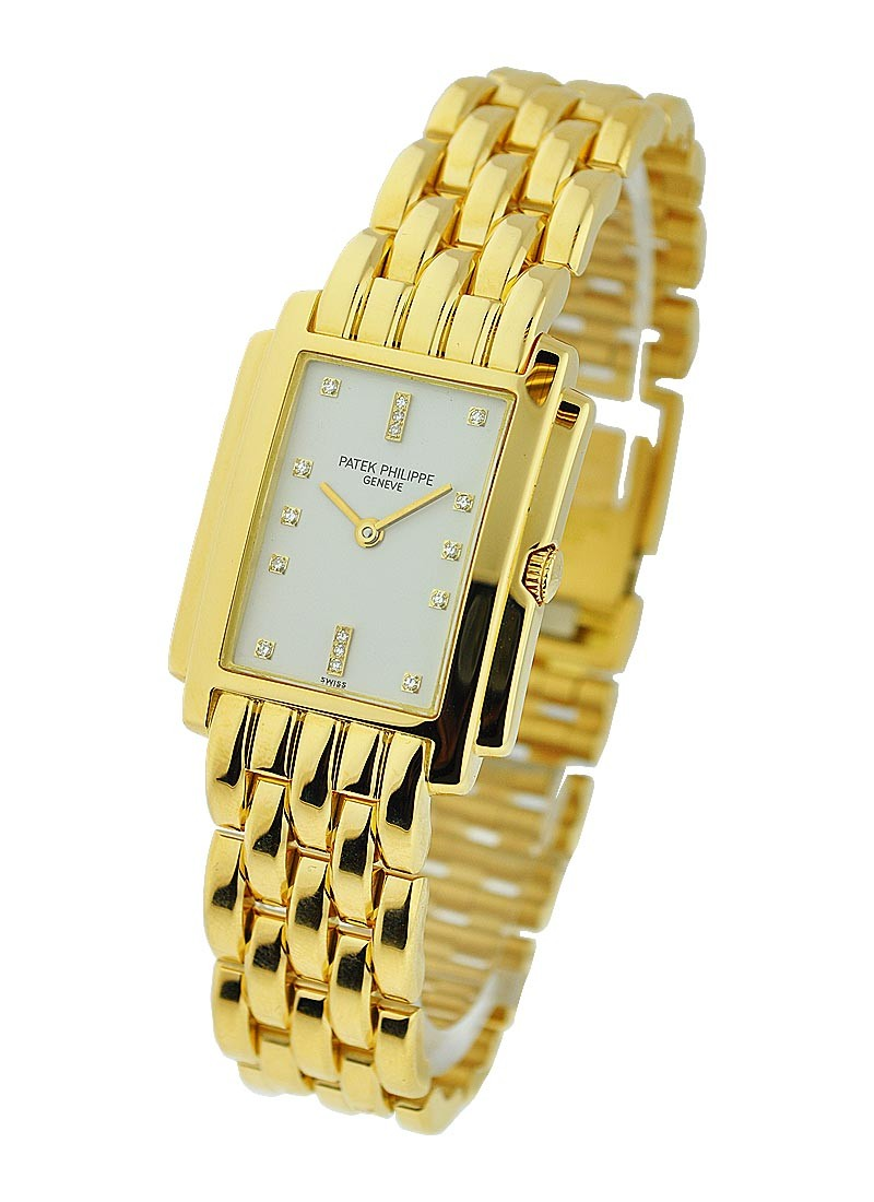 Patek Philippe Yellow Gold Lady's Gondolo on Bracelet