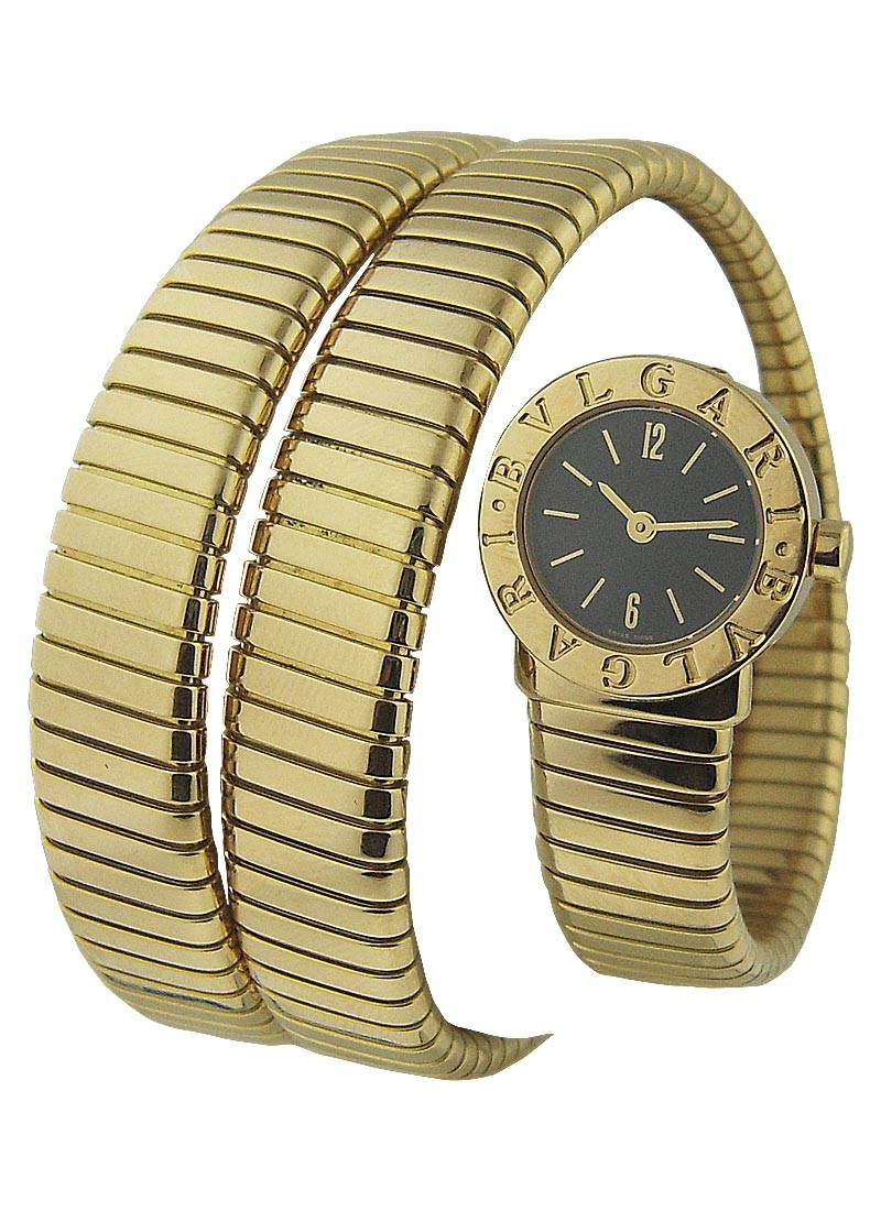 Bvlgari Tubogas Serpent in Yellow Gold