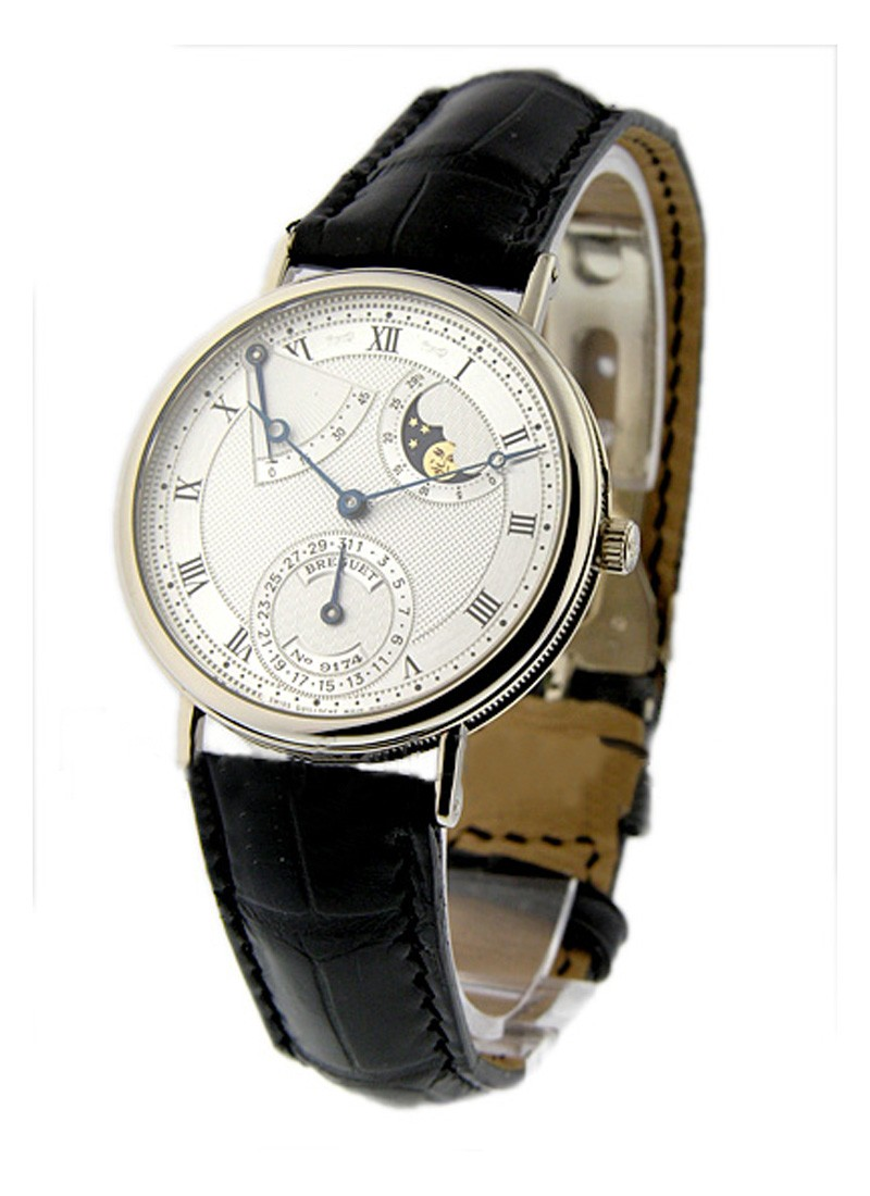 Breguet Classique Power Reserve in White Gold