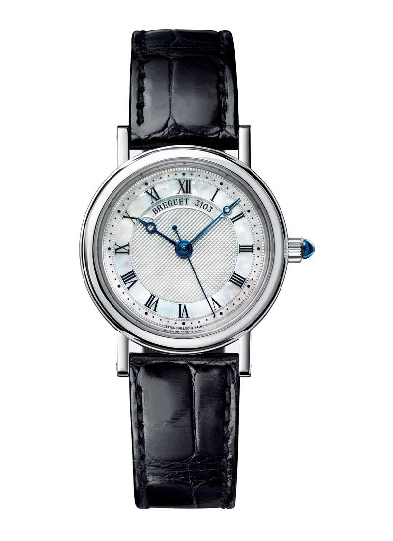 Breguet Classique 30mm Automatic in White Gold