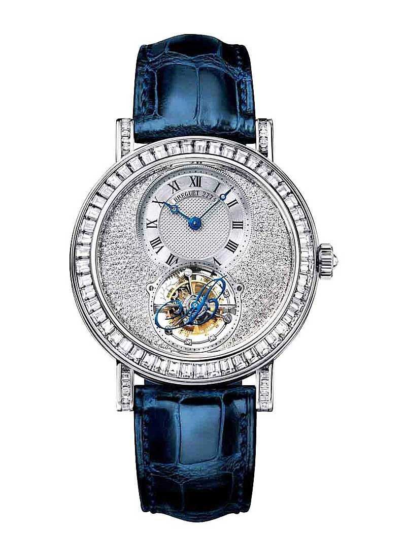 Breguet Grande Complication Tourbillon   Baguette Diamond Bezel