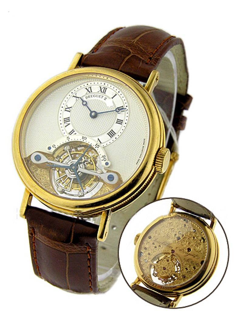 Breguet Grande Complication Tourbillon Co-Axial 36mm in Yellow Gold