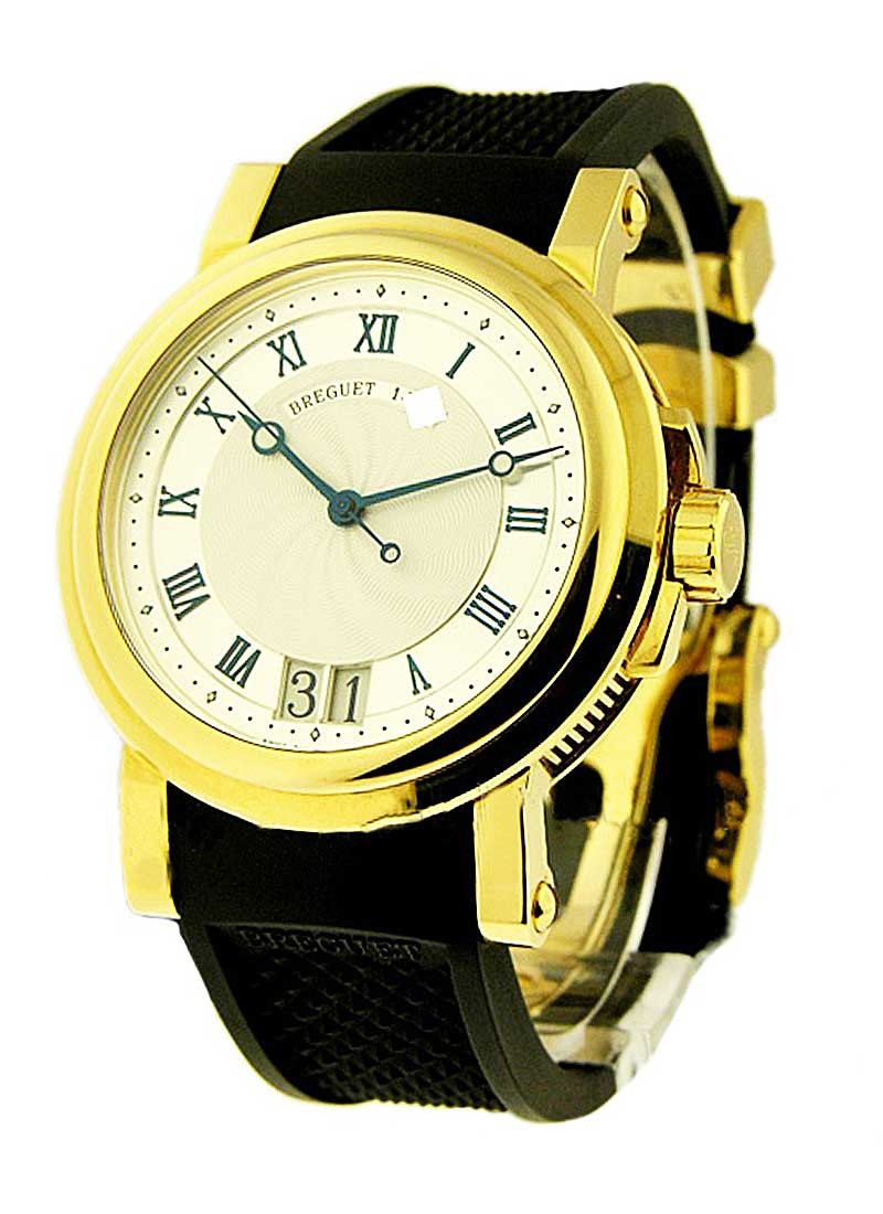 Breguet Marine II Big Date in Yellow Gold