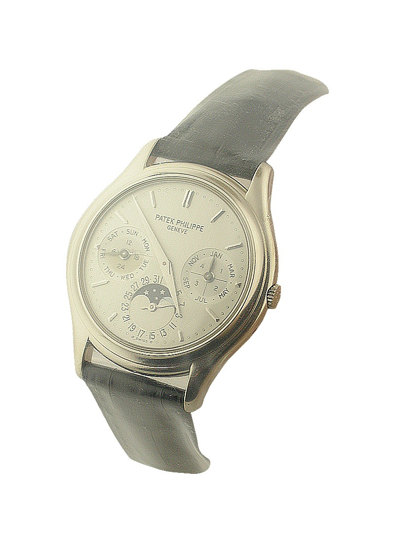 Patek Philippe 3940 Perpetual Calendar in White Gold