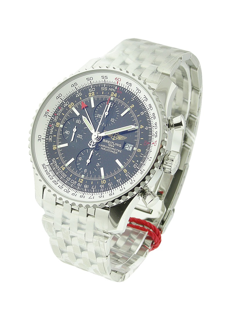 Breitling Navitimer World Chronograph in Steel