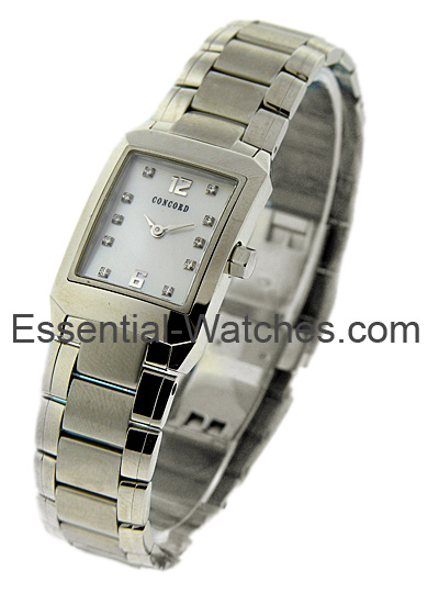 Concord Lady's Carlton 19mm in Stainless Steel