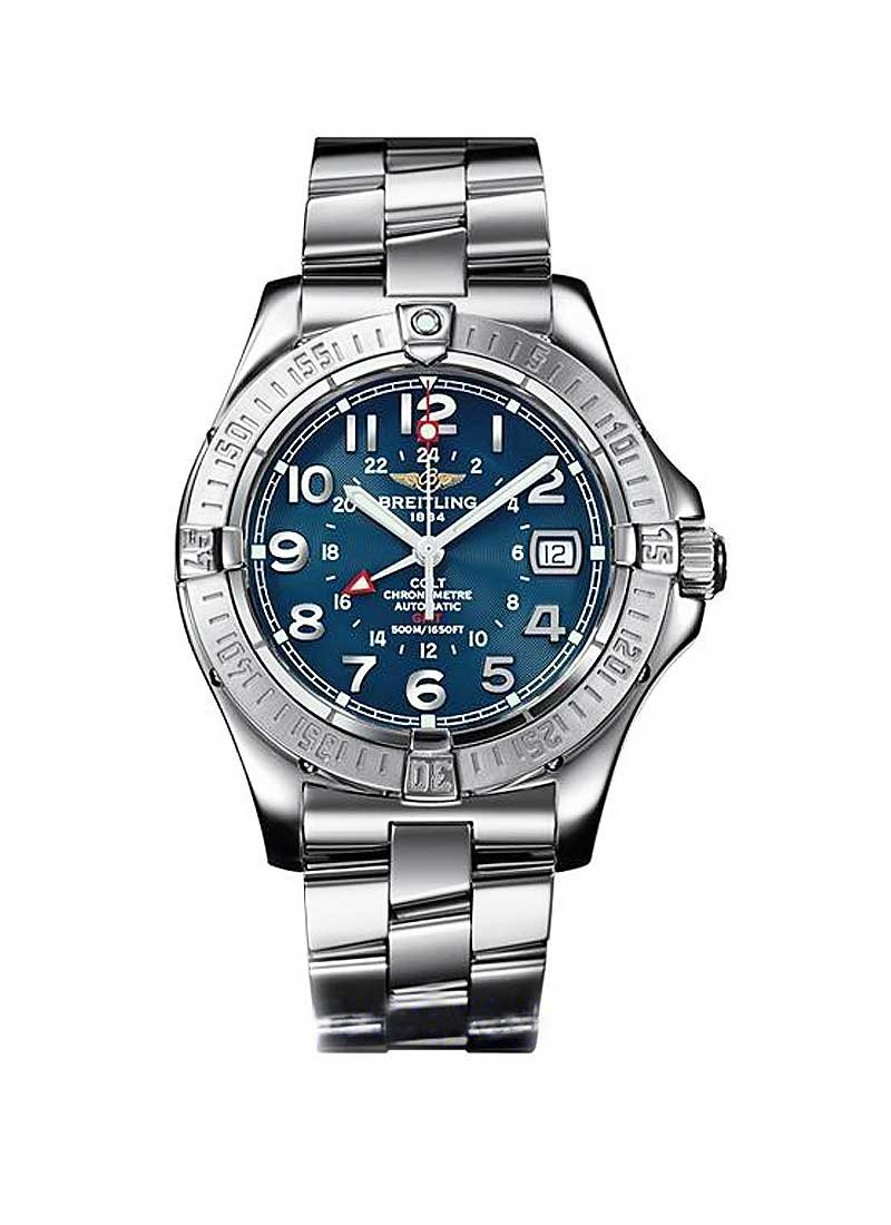 Breitling Colt GMT 40mm Automatic in Stainless Steel