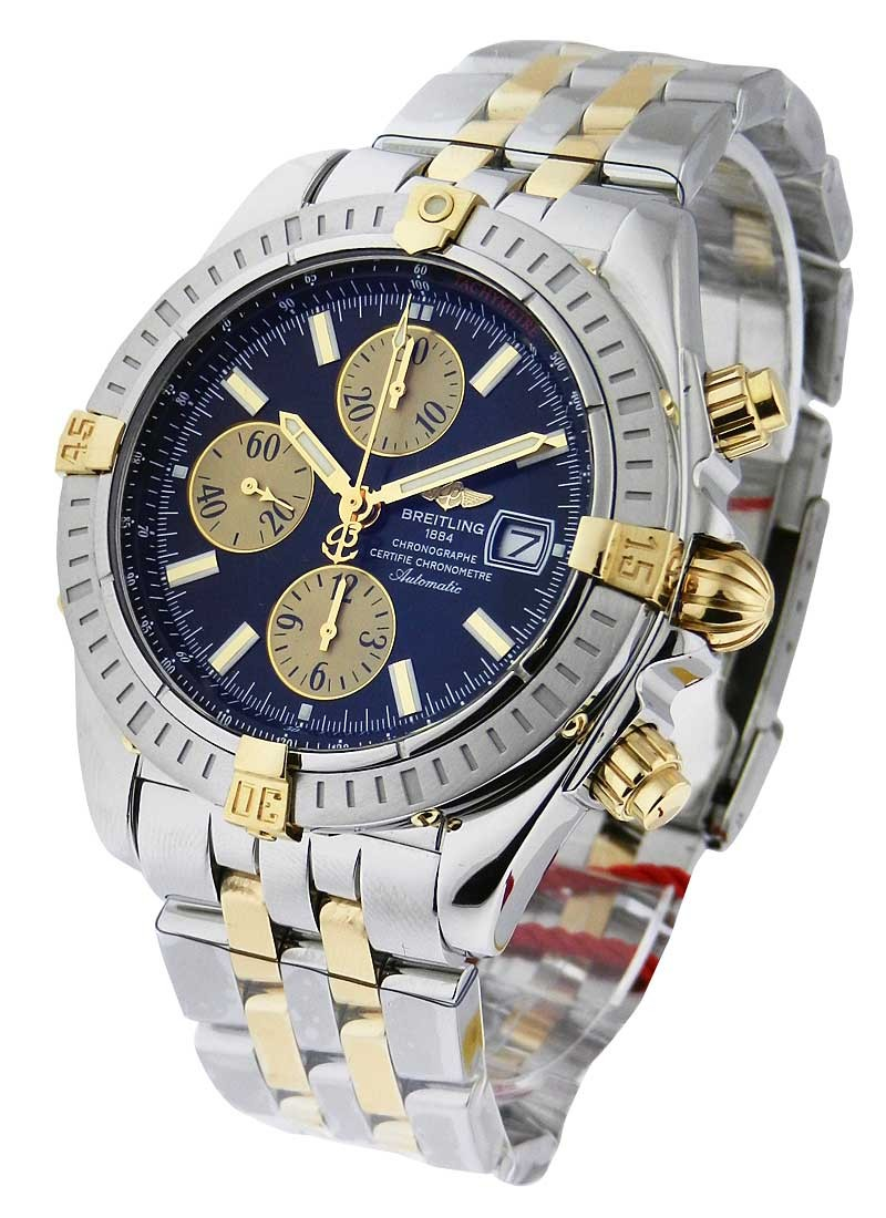 Breitling Chronomat Evolution Men''''s Automatic in 2 Tone