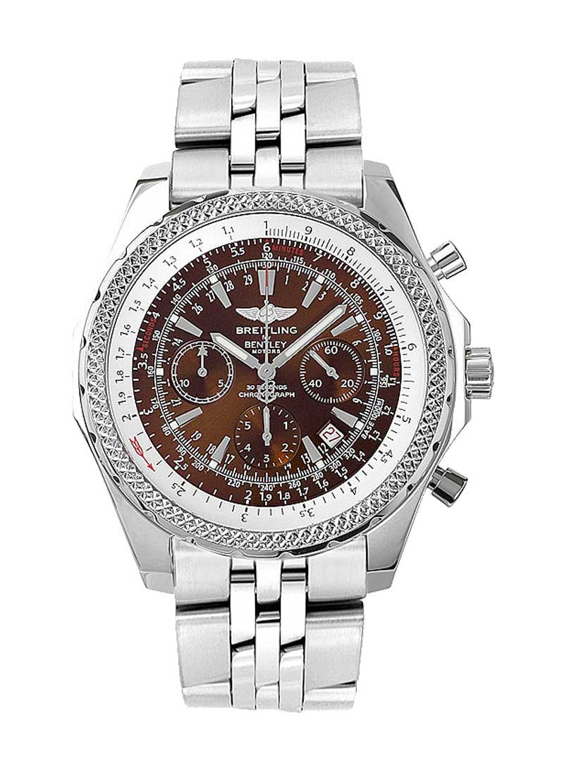 Breitling Bentley Motors Chronograph in Steel