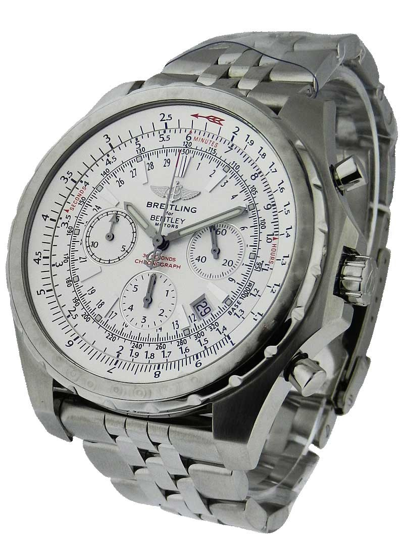 Breitling Bentley Motors Men''s Automatic Chronograph in Steel