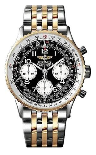 Breitling Navitimer 2 Tone in Steel with Yellow Gold Bezel