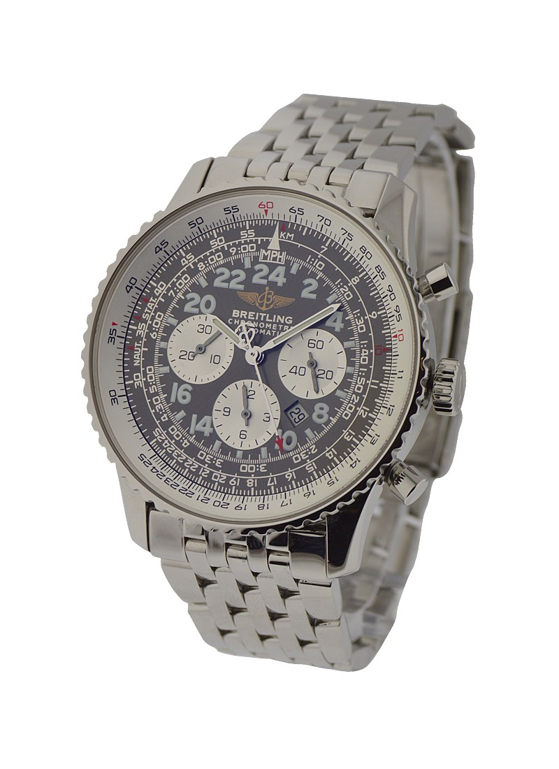 Breitling Navitimer Cosmonaute Chronograph in Steel