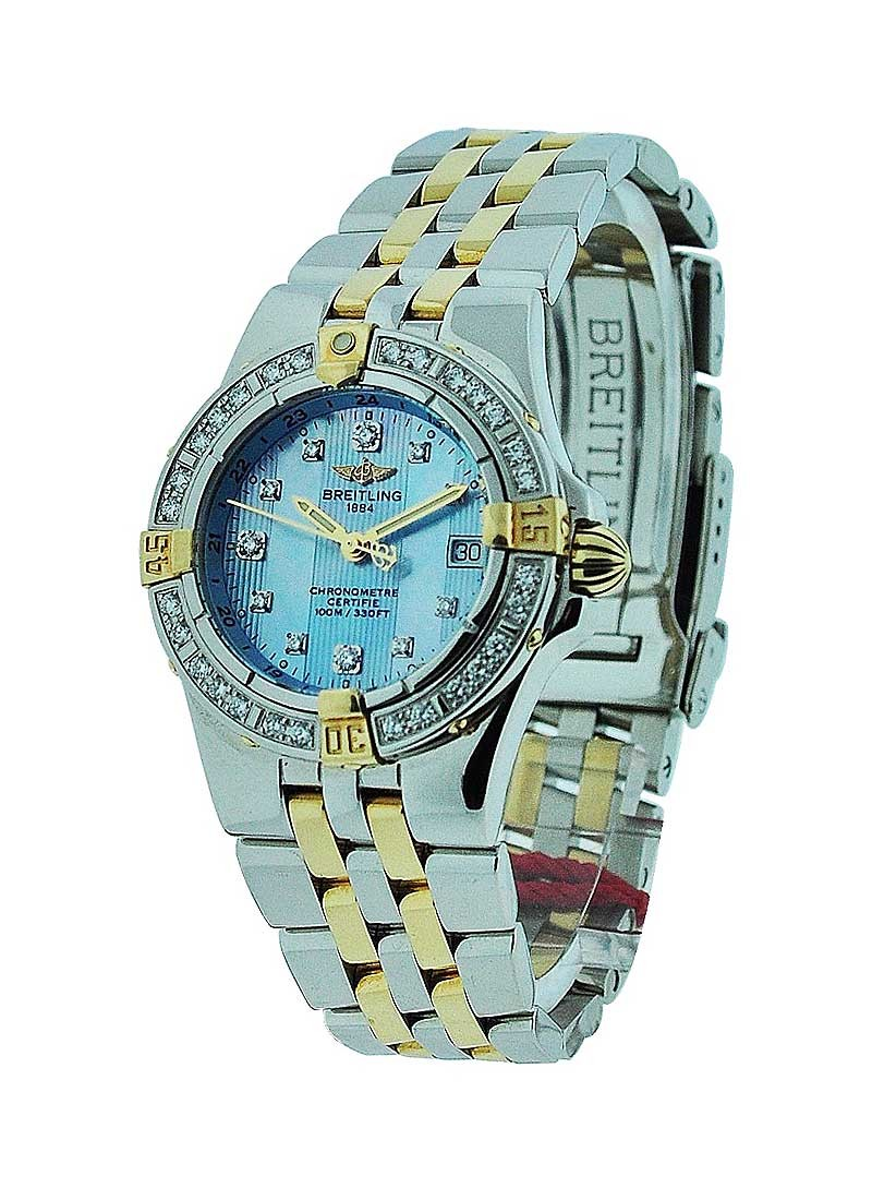 Breitling Lady's Starliner - Diamond Bezel