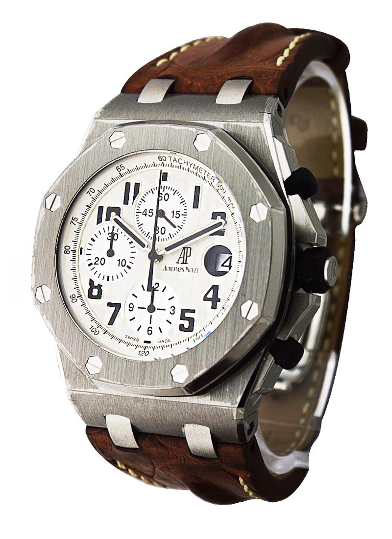 Safari Royal Oak Offshore Chronograph In Steel