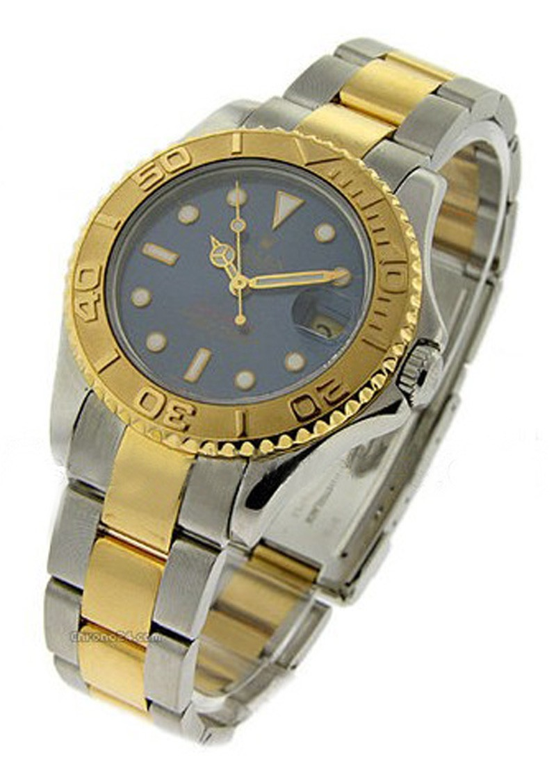 Rolex Unworn Yacht-Master 2-Tone in Steel and Yellow Gold Bezel