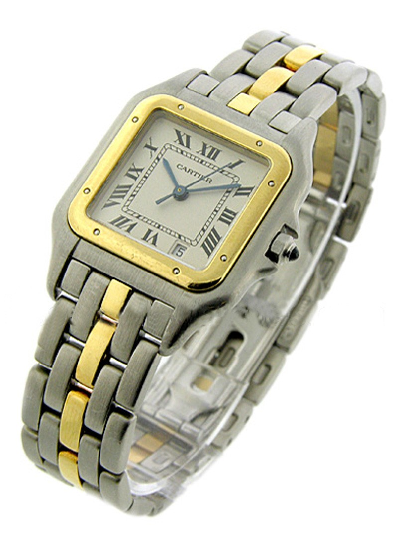 Cartier 2 Tone Panther   Large Size