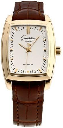 Glashutte Karree 30mm Automatic in Rose Gold