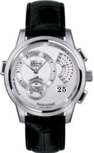 Glashutte PanoRetroGraph Flyback Chronograph 42mm in Steel