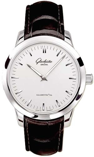 Glashutte Senator 40mm Automatic in Steel