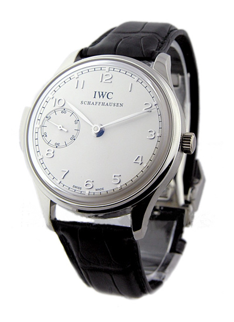 IWC Portuguese Minute Repeater 42mm in Platinium Limited Edition