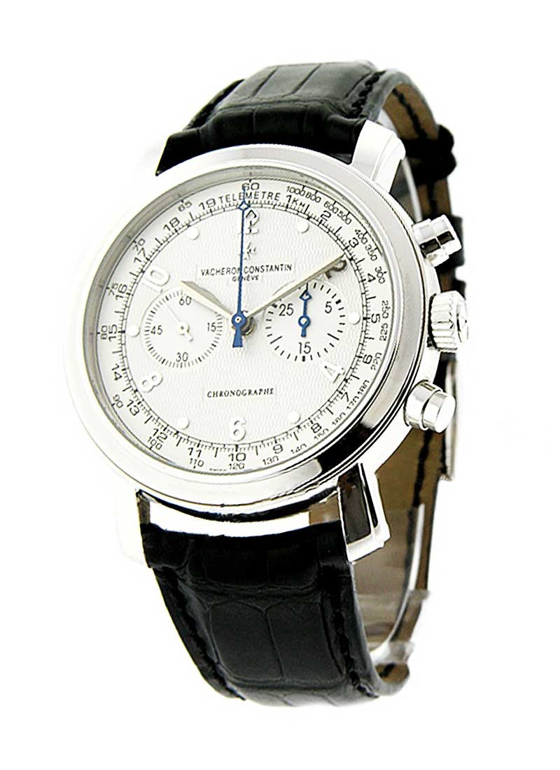Vacheron Constantin Malte Manual Chronograph in White Gold