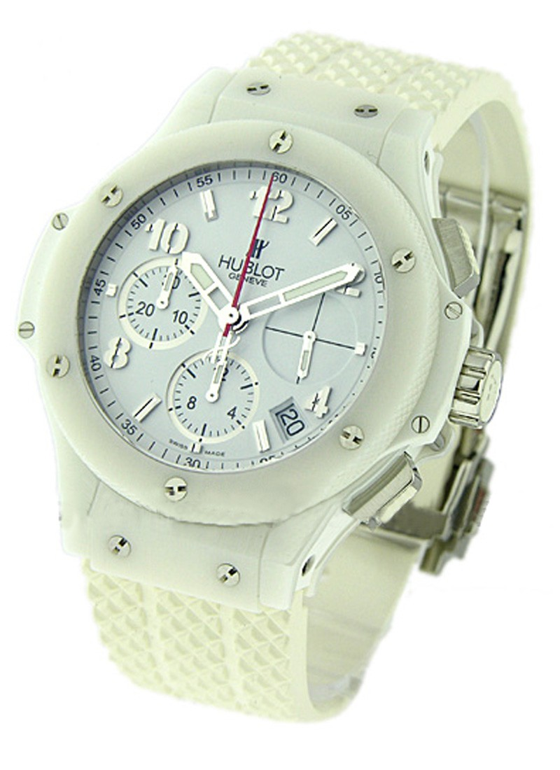 Hublot 41mm Big Bang  Aspen All White