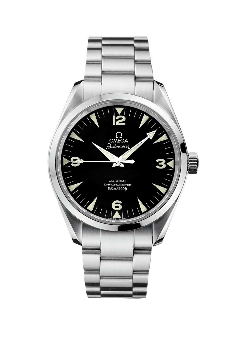 Omega Railmaster Automatic -in Steel