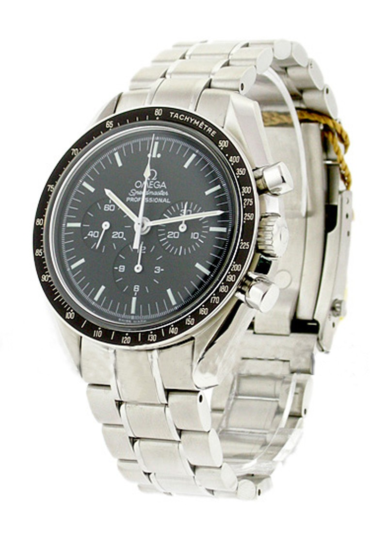 Omega Speedmaster Professional Chronograph Moon in Steel