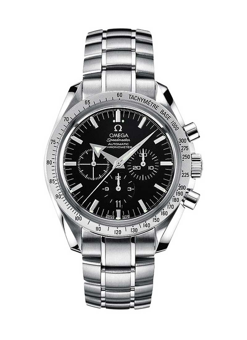 Omega Speedmaster Broad Arrow 42mm Autoamtic in Steel