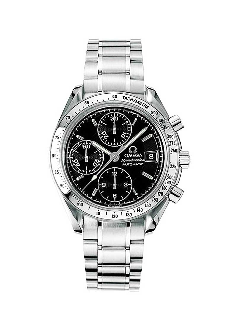 Omega Speedmaster Date Chronograph in Steel