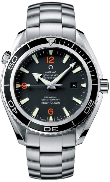 Omega Seamaster Planet Ocean in Steel