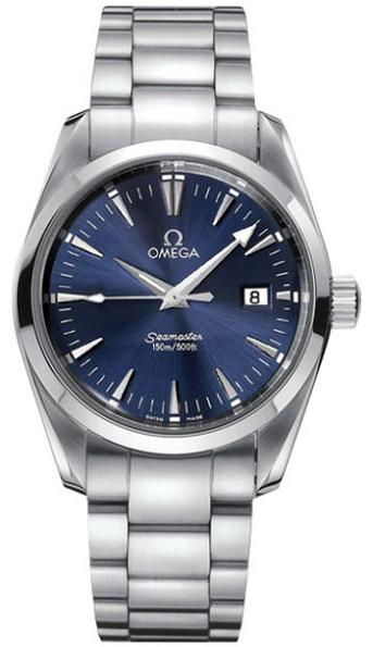 Omega Aqua Terra 39mm in Steel