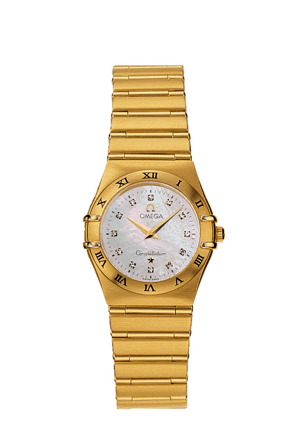 Omega Constellation in Yellow Gold