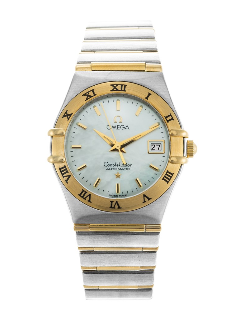 Omega Constellation 95 in Steel with Yellow Gold