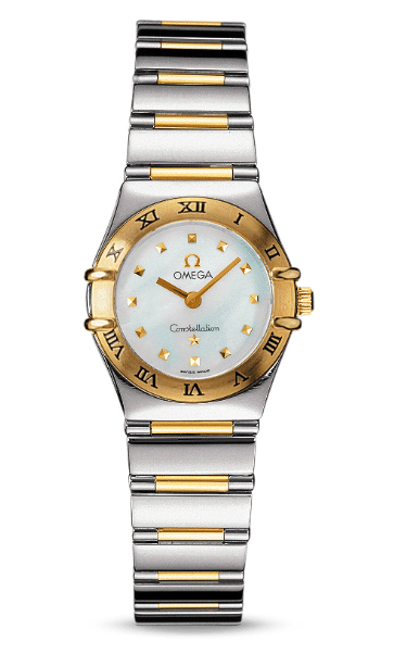 Omega Constellation My Choice in Steel with Yellow Gold