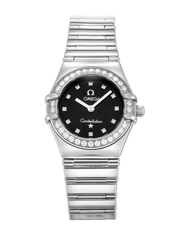 Omega Constellation My Choice in Steel with Diamond Bezel
