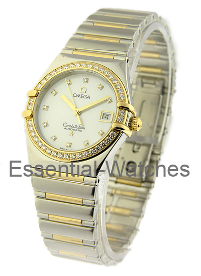 Omega Constellation My Choice - Diamond Bezel