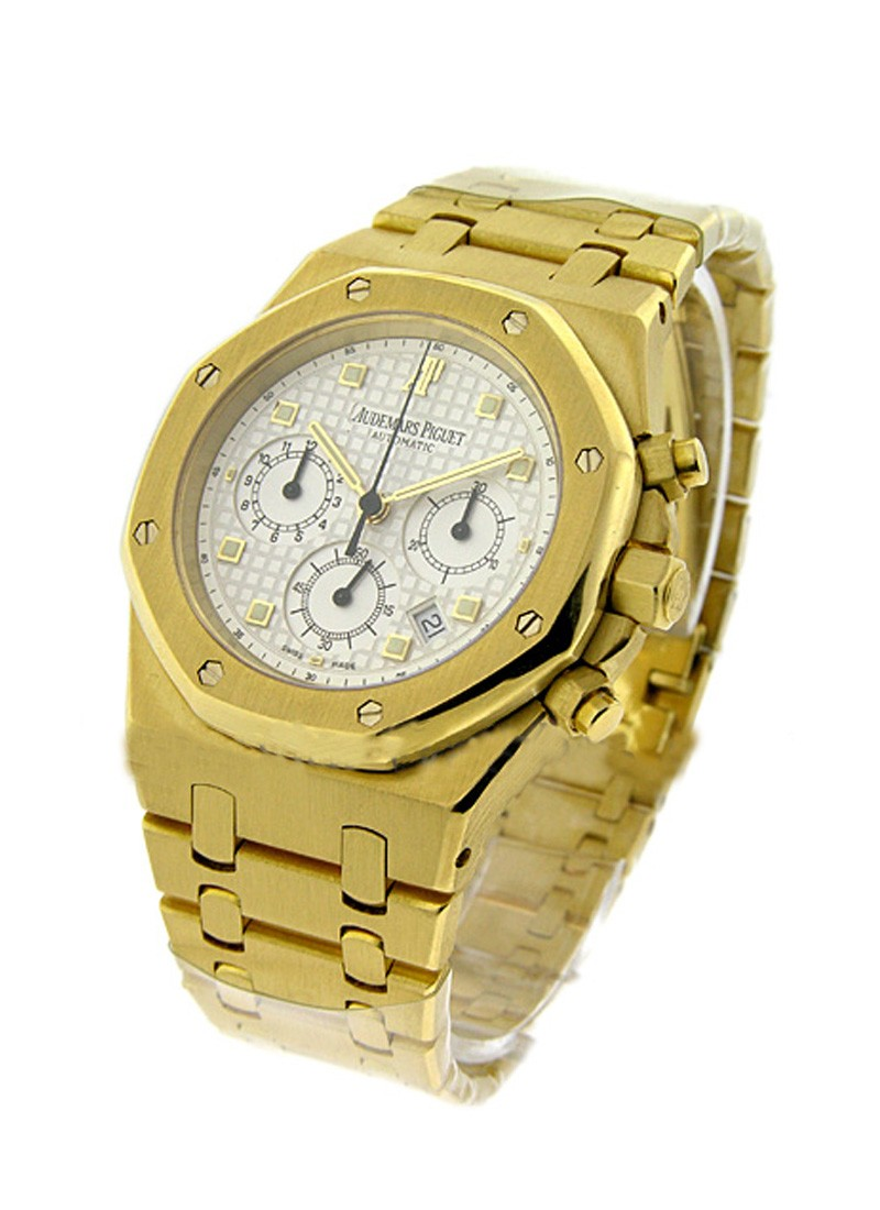 48531626fea9 25960BA.OO.1185BA.01 Audemars Piguet Royal Oak Chronograph Yellow ...