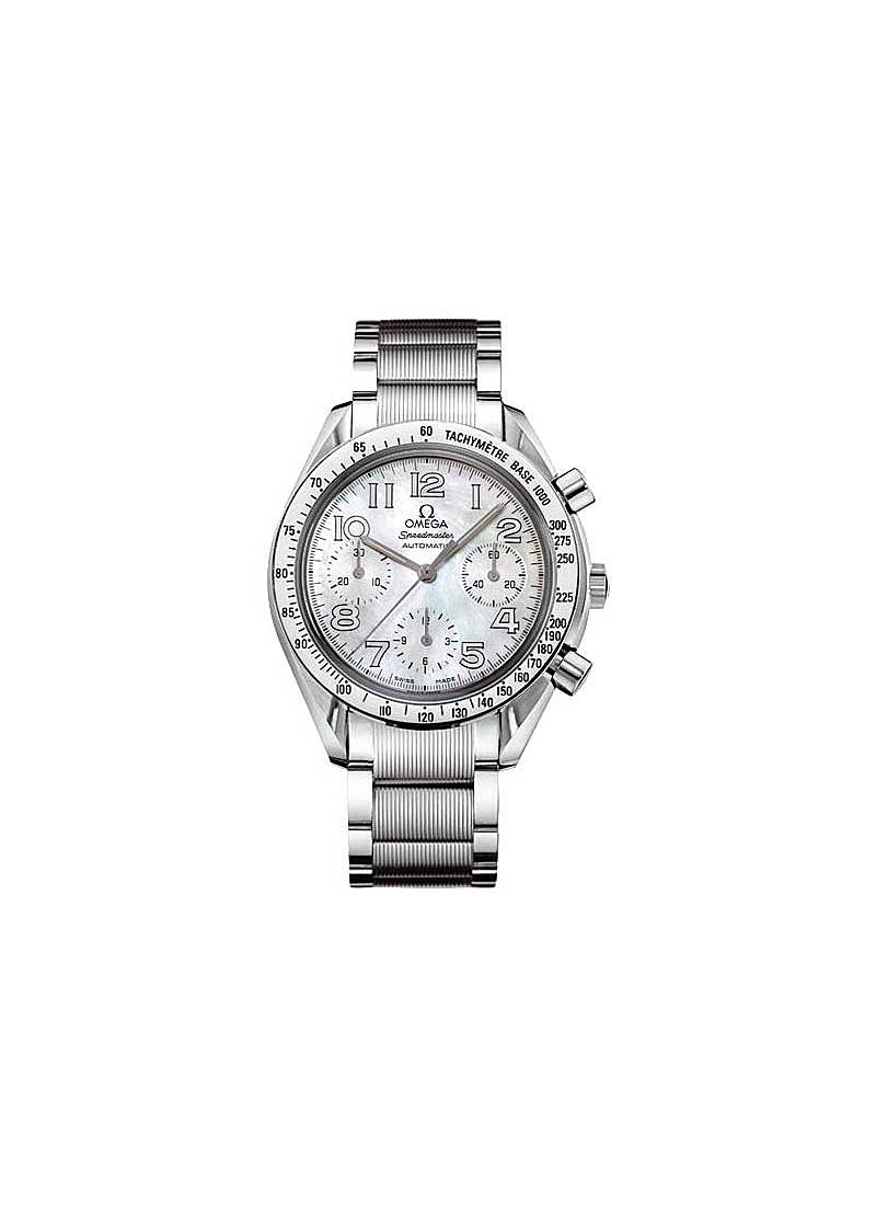Omega Speedmaster Reduced Chronograph 35.5mm Automatic in Steel with Tachymeter Bezel
