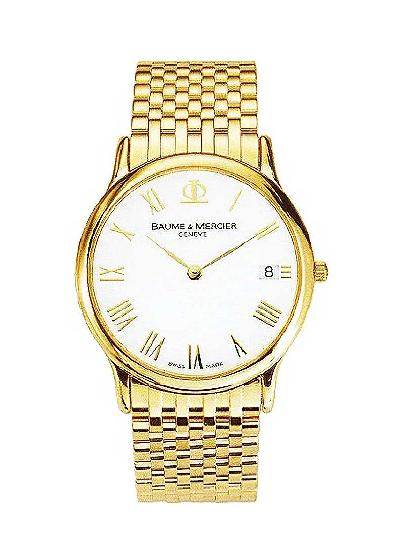 Baume & Mercier Classima Executives in Yellow Gold