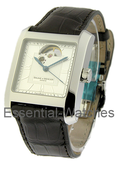 Baume & Mercier Hampton Classic Square in Steel