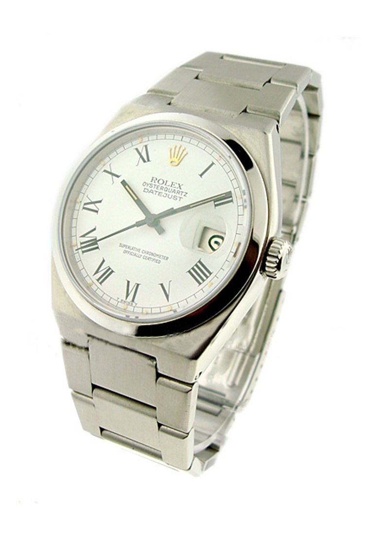 Rolex Used Quartz Datejust   Stainless Steel