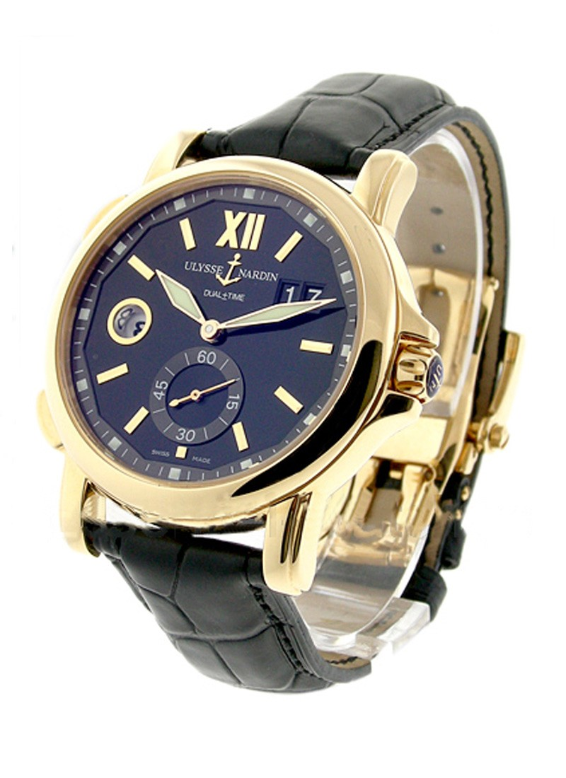 Ulysse Nardin Dual Time Small Second 42mm in Rose Gold