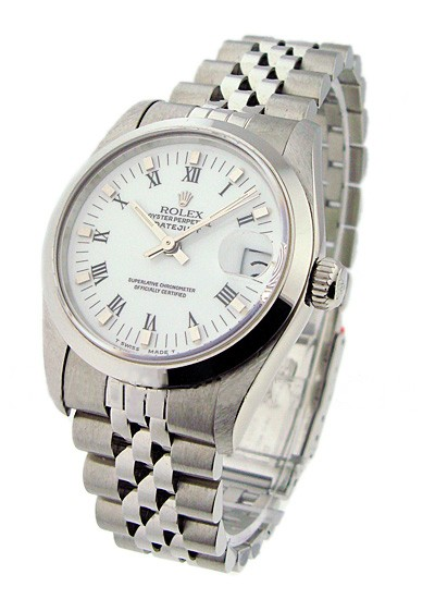 Rolex Used  Mid Size - Datejust - Steel - Smooth Bezel