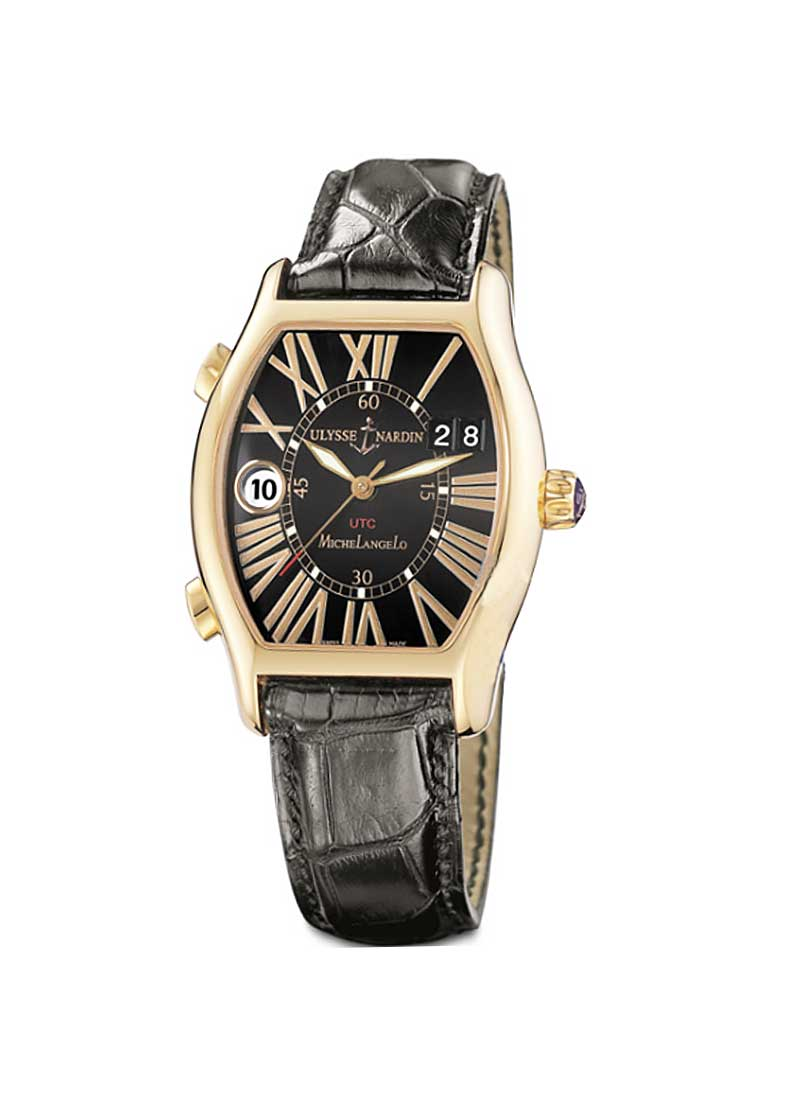 Ulysse Nardin Michelangelo UTC Dual Time in Rose Gold