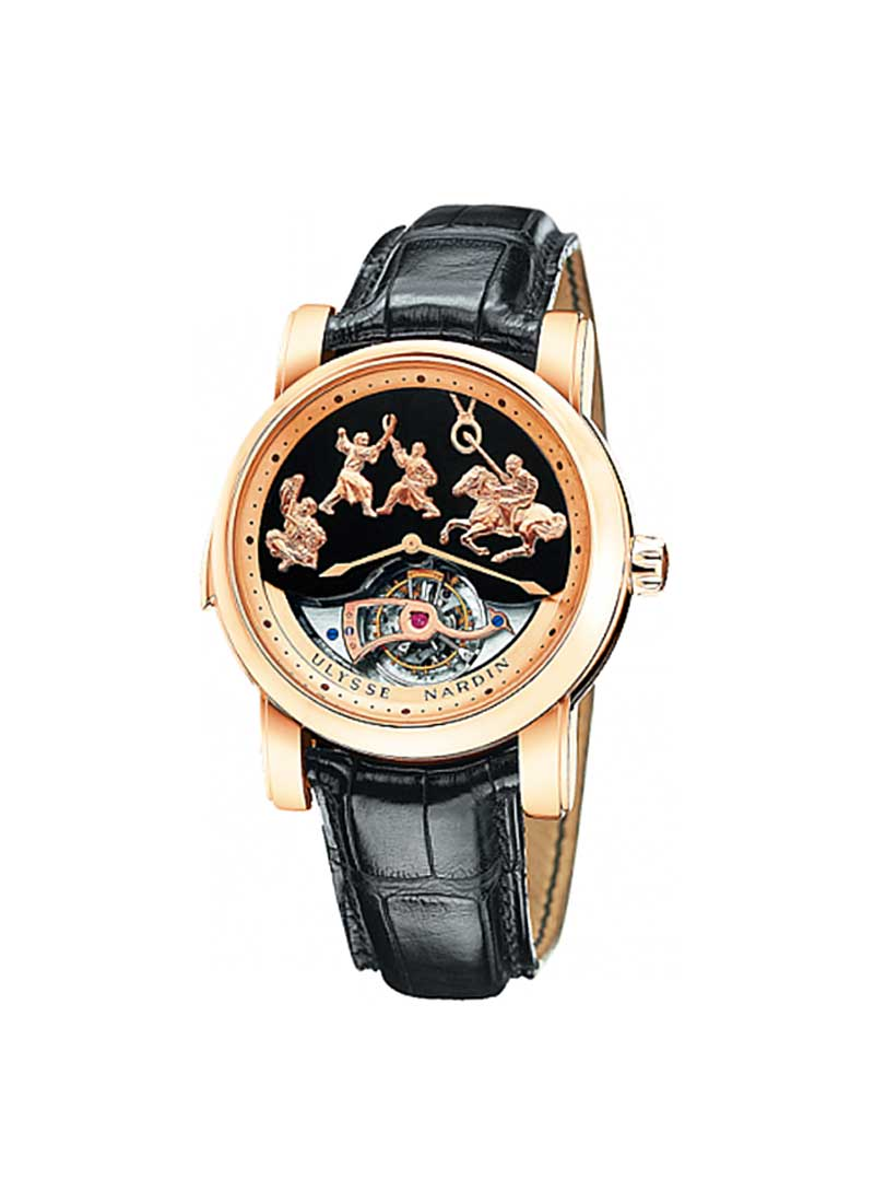 Ulysse Nardin Genghis Khan Minute Repeater Tourbillon in Rose Gold
