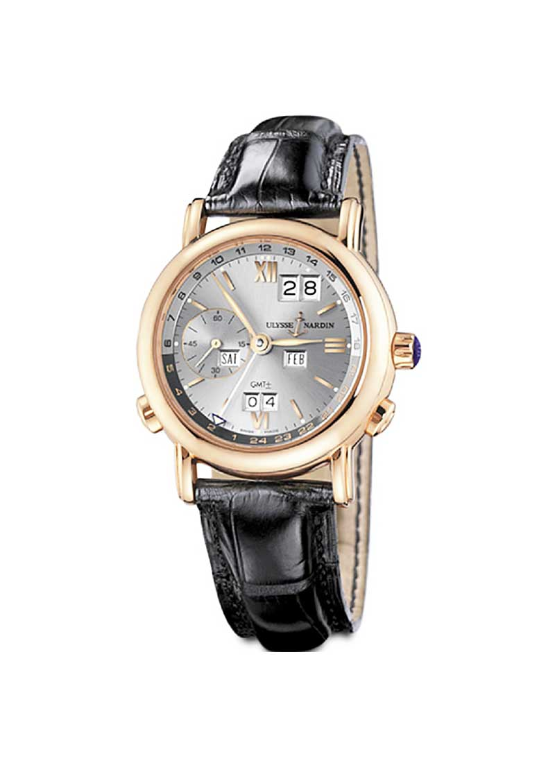 Ulysse Nardin GMT Perpetual 38mm in Rose Gold