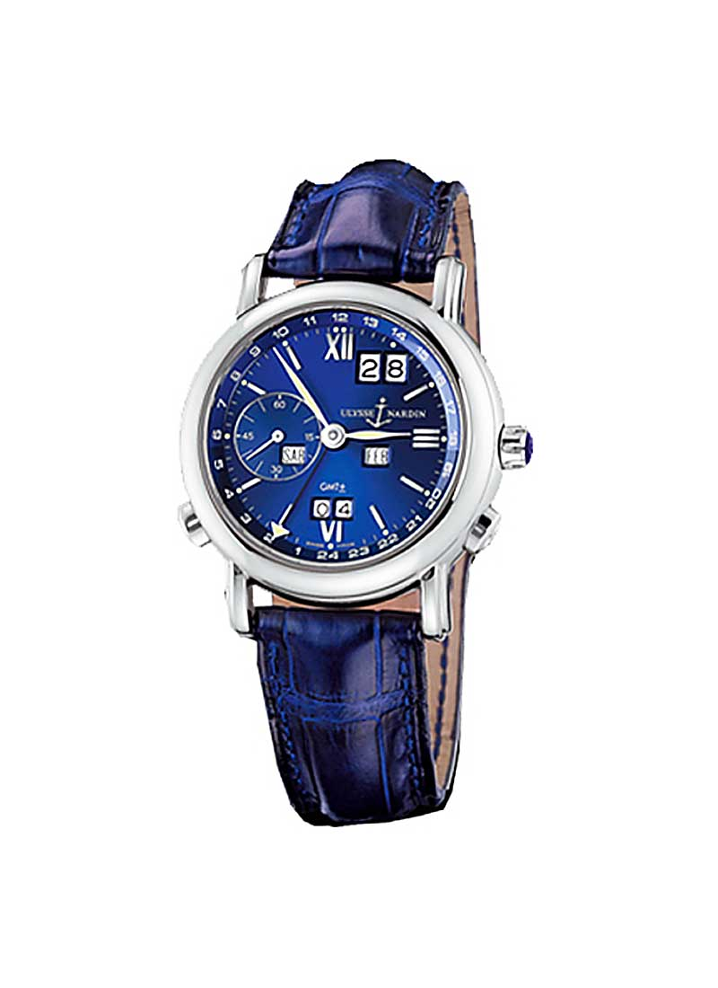 Ulysse Nardin GMT Perpetual 38mm in White Gold