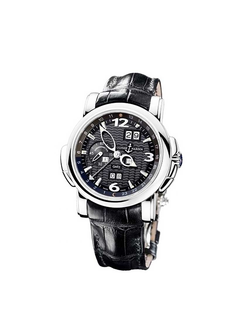 Ulysse Nardin GMT ± Perpetual 42 mm Automatic in White Gold